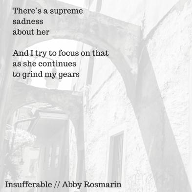 Insufferable